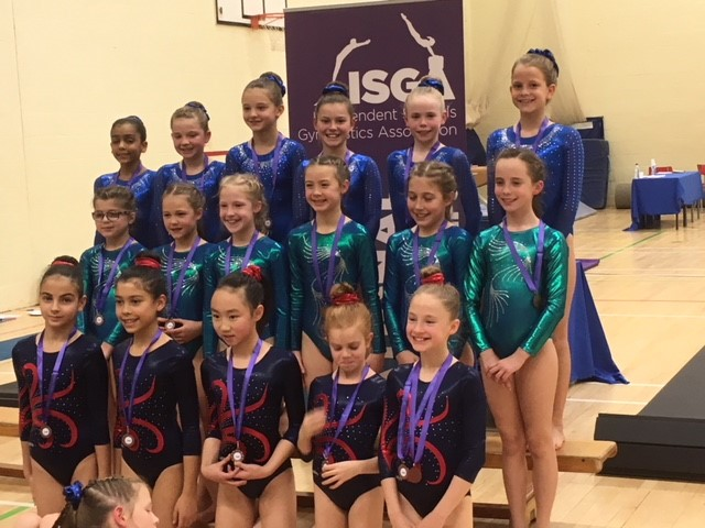 Impressive Results For Prep Gymnasts At Isga Gym Competition S5